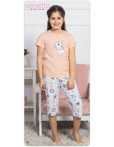 Комплект детский футболка капри DREAM
