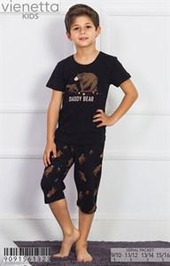 Комплект подростковый футболка капри