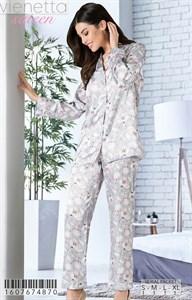 Пижама шёлковая sateen