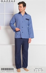Пижама мужская поплин
