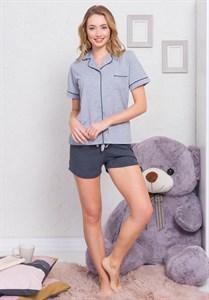 Комплект рубашка шорты